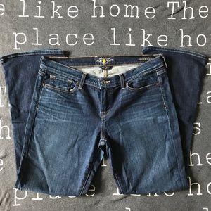 Lucky Brand boot cut denim jeans • Size 14 / 32